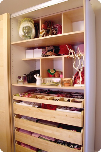 Making It Lovely Closet 1