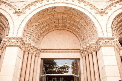 one of my favorite venues The Newberry Library as their wedding venue