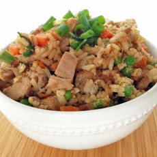 Healthier Pork Fried Rice