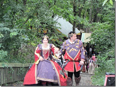 King Henry and Queen Katherine