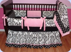 Delaney crib bedding