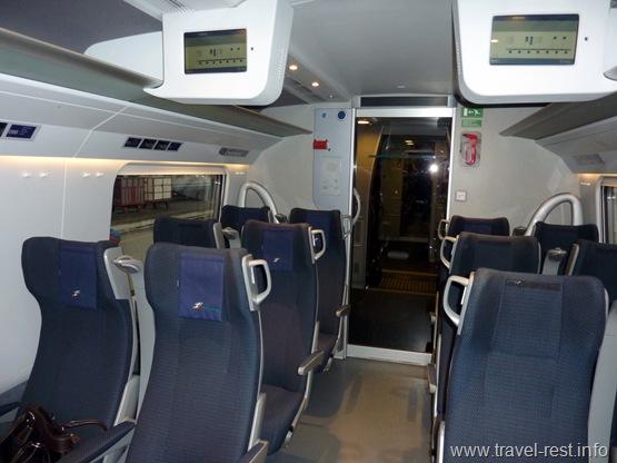поезд Милан - Цюрих