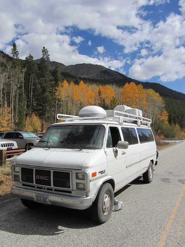 van on cottonwood pass