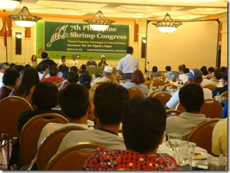 AQD co-sponsors shrimp congress
