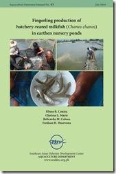 AEM 45 Fingerling production of hatchery-reared milkfish (Chanos chanos) in earthen nursery ponds