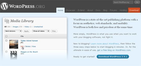 официальный сайт wordpress org