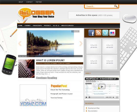 Новые шаблоны wordpress