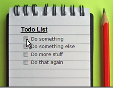 список дел todo list