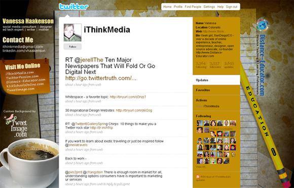 фон для твиттера