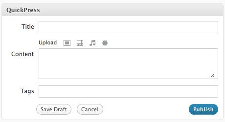 быстрая публикация wordpress
