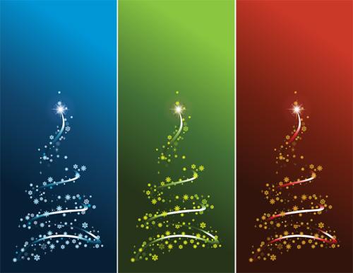 новый год елка вектор