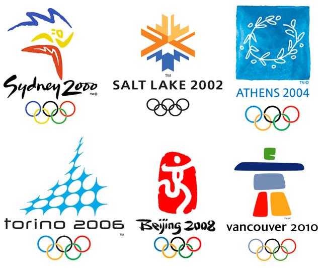 эмблемы олимпийские игры