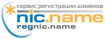 домены com net