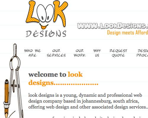 строгий дизайн сайта