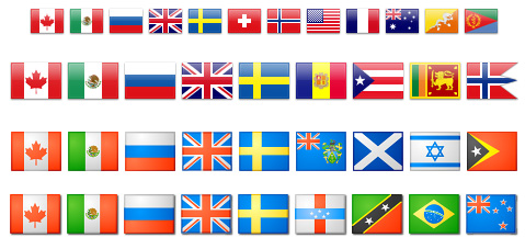 Флаги стран – картинки иконки
