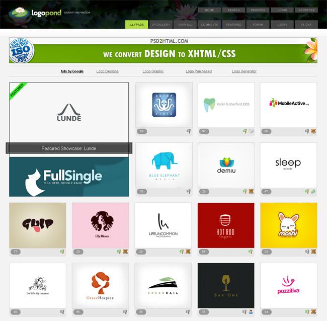 логотипы архив Logopond