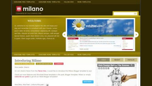 blogspot шаблон