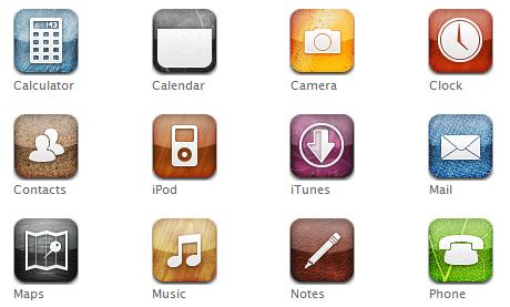 иконки iphone