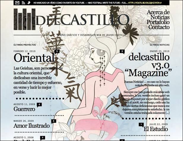 новый дизайн DelCastillo