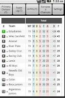 Screenshot of Live Football Results (Tab)