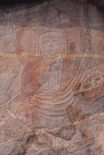 Chilgok Relief of buddha and bodhisattva in Noseokdong, Seongju 01