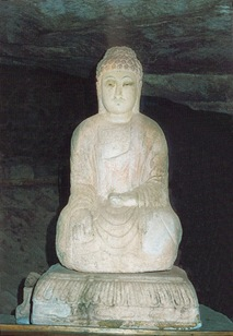 Uiseong Seated stone Buddha Statue in Jarakdong Bian Myeon