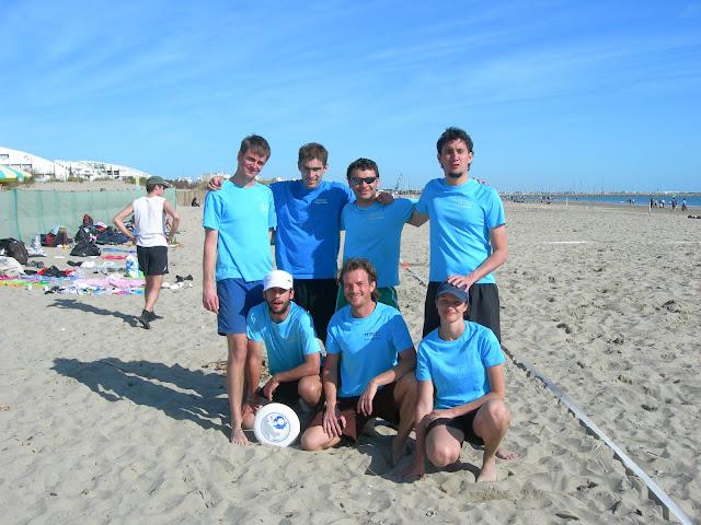 El equipo de Peixets en la Grande Motte