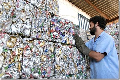 reciclagem LATINHAS