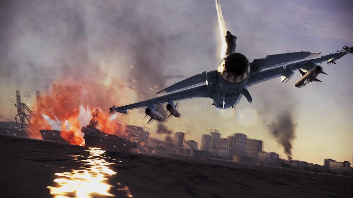 Ace Combat: Infinity launch trailer jets onto the internet
