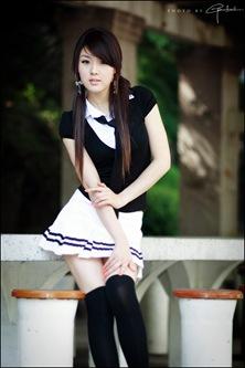 Hwang Mi Hee School Girl Style 1-3