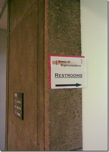 Official restrooms