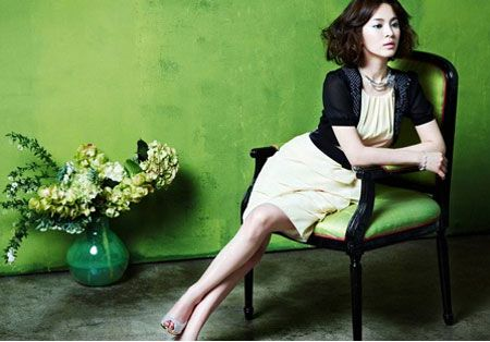 song hye kyo hairstyle
