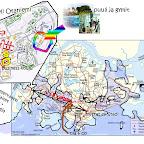 Singapore / Helsinki -kartta