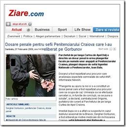 Dosare penale pentru sefii de la penitenciarul Craiova