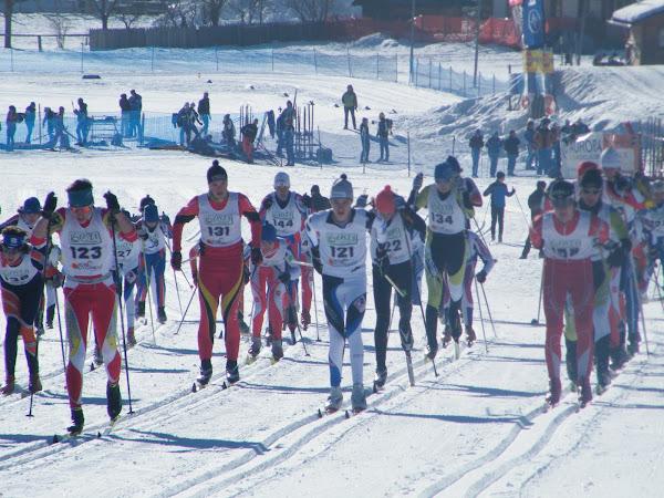 La gara svoltasi a Padola (foto GS Centro Cadore)