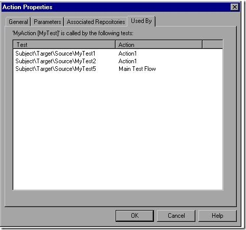 QTP Action Properties3