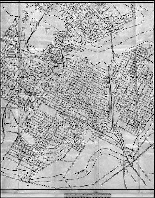 Photos  COA map of Billings Bridge  CA001357jpg  Old Ottawa
