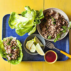 Thai Pork Wrap-Ups