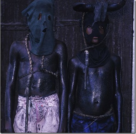 Two Boys with Whips, Jacmel, Haiti, 1997