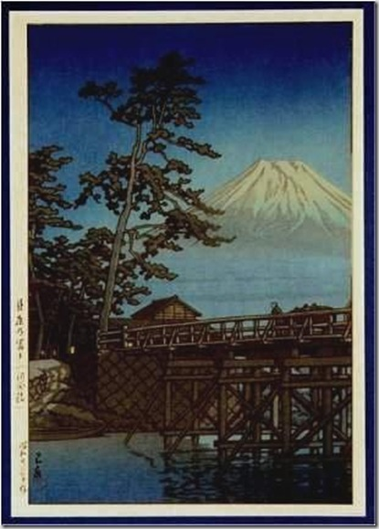 Oltre il muro arte e fotografia kawase hasui for Stampe paesaggi naturali