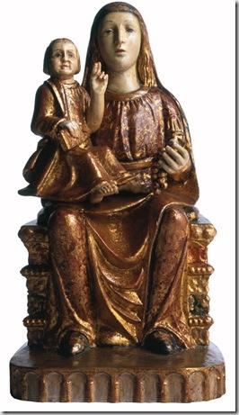 Madonna col Bambino (Chiesa parrocchiale di Modolo)