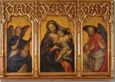 Trittico della Madonna del Grappolo
