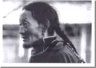 Facendo giri attorno al tempio McLeod Ganij 1980