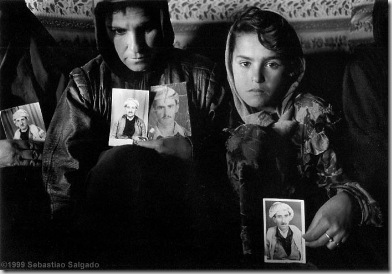 On July 31st 1983 Iraqi soldiers took away all the men of several villages, they were never seen again.  Beharke, Iraqi Kurdistan. 1997