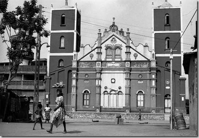 A Grande Mesquita, Porto Novo, 1994.