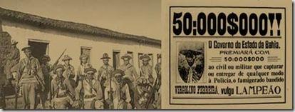cartaz impresso pelo Governo de Bahia