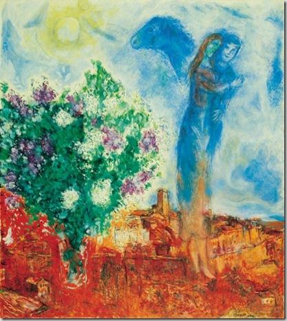 Marc Chagall, Couple au-dessus de Saint-Paul, 1970-1971 © by SIAE 2009