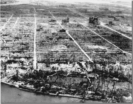 WWII AFTERMATH HIROSHIMA
