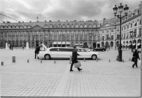 photo by Kadir van Lohuizen / NOOR Diamond matters 2004  The Place Vendome in Paris where most exclusive jewellery houses are located.