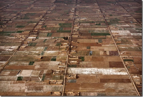 Afghanistan Helmand from the Air
